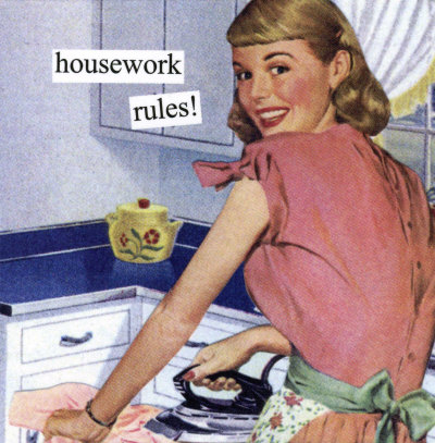 01324~Housework-Rules-Posters