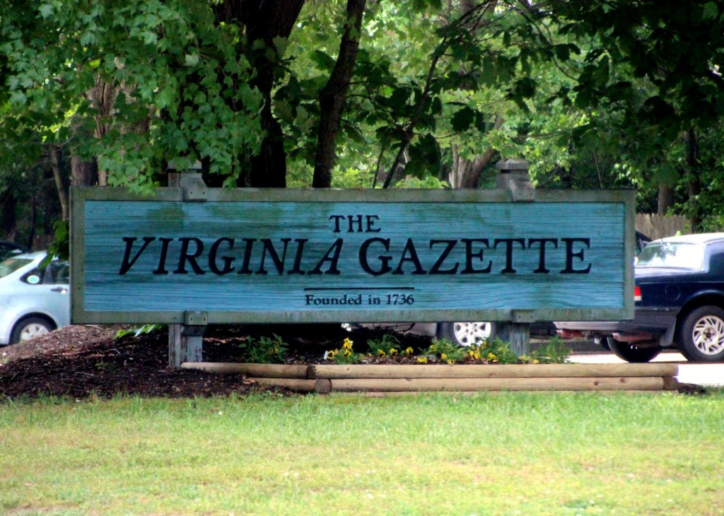 Virginia Gazette - Williamsburg, VA